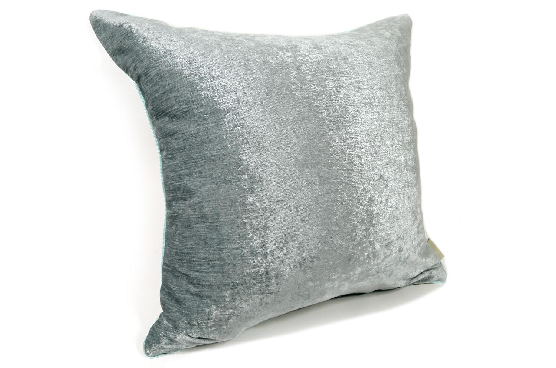 The Ice Gray Velour ベロアクッションカバー アイスグレー 45×45cm