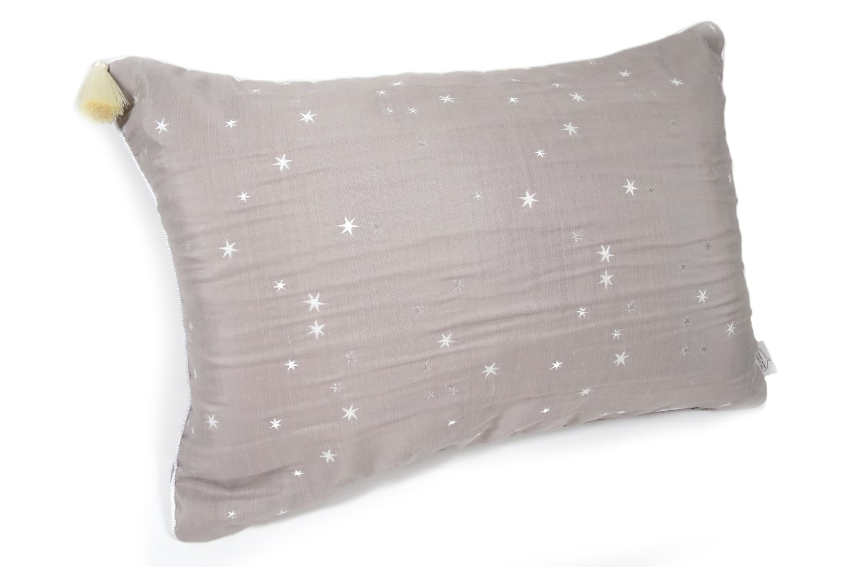 The Lovely Star 刺繍タッセル付クッション 50×35cm 中材付