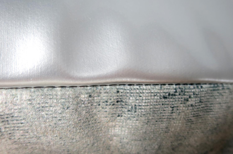 The Fluid × Metal スペイン製 起毛スエード調 FLUID×メタルクッションカバー 45×45cm