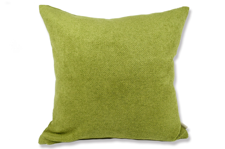 The Washable やわらかウォッシャブルクッションカバー グリーン 50×50cm