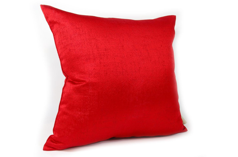 The ALDECO Shine Red 艶赤 シャインレッドクッションカバー 45×45cm