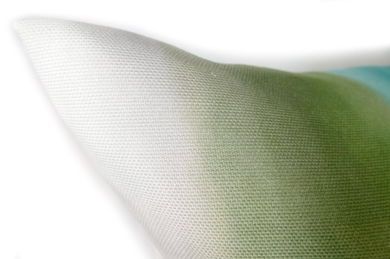The Mint Gradation ミントグラデーションクッションカバー sun+sun mint 撥水加工 45×45cm