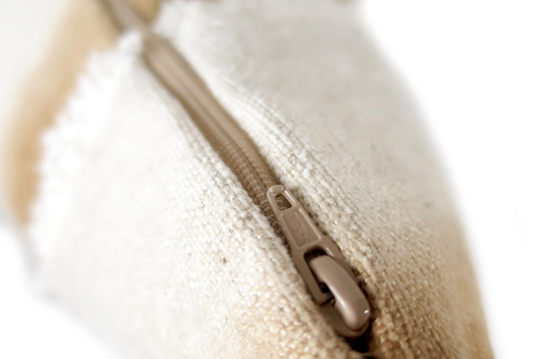 The ALDECO Gradation Stripe グラデーションストライプクッションカバー ブラウンベージュ 50×50cm