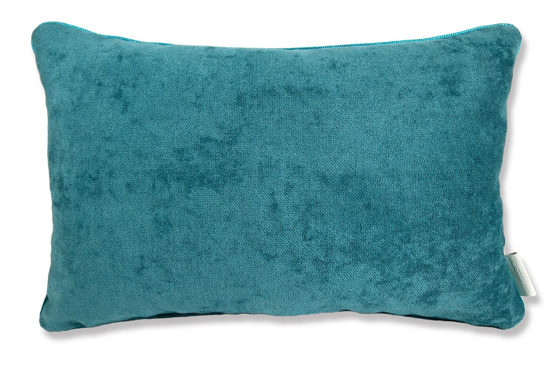 The Cute Velvet キュートベルベットクッション ピーコックグリーン 45×30cm 中材付