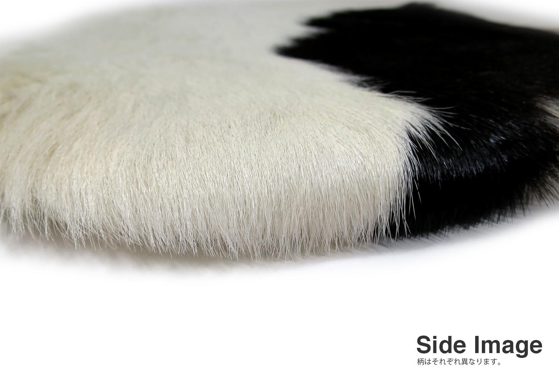 The Hair on Cow Hide Round Sheet カウハイド ラウンドシートクッション No.05-08 Φ35cm