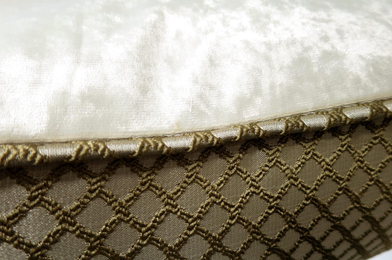 The Grid Pattern 格子柄クッションカバー 50×50cm
