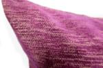 The JIM THOMPSON Fabric ジムトンプソン生地使用 ジャガードクッションカバー パープル 50×50cm