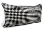 The UBERTINO ウベルティーノItaly 千鳥格子柄クッション 66×38cm 中材付
