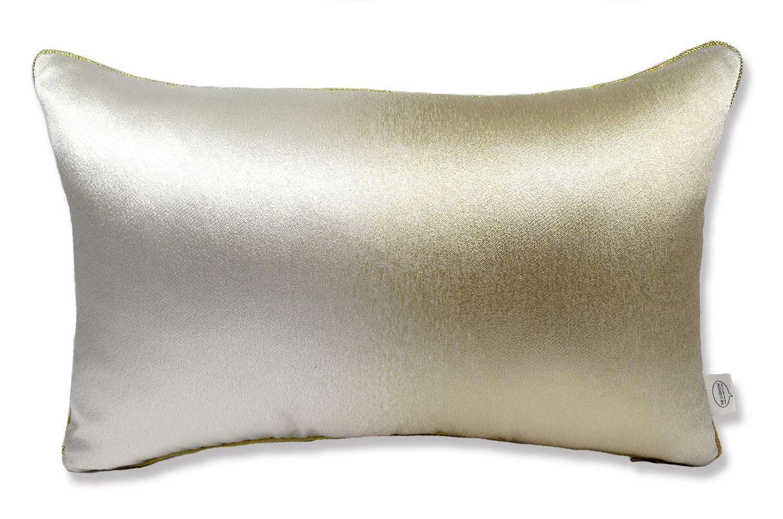 The Shine Gold シャイングラデーションゴールド クッション 50×30cm 中材付