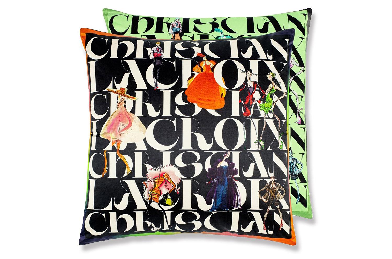【海外取寄品】The Christian Lacroix クリスチャンラクロワ パレード ジェット クッションカバー 55×55cm