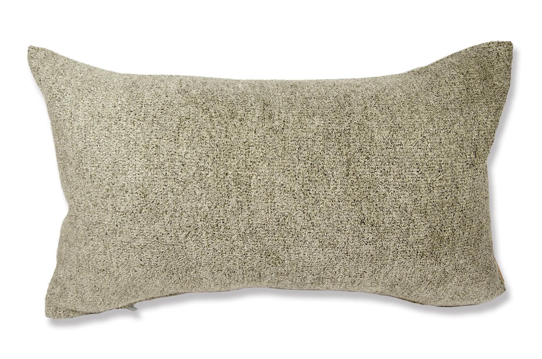 上質なタオルの様な気持ち良さで人気の柔らかウォッシャブル生地を使用した横長クッション(アッシュグレー)