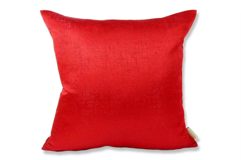 The KEY Rouge Red 艶赤 リネンルージュレッド クッションカバー 40×40cm